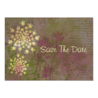 Queen Anne's Lace Save The Date Card