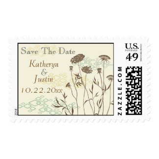 Queen Anne's Lace Save The Date Postage