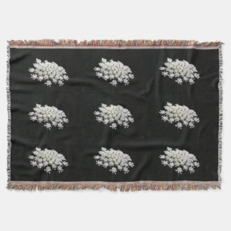Queen Anne's Lace Throw Blanket