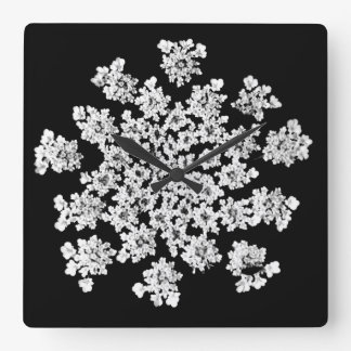 'Queen Anne's Snowflake' Wall Clock