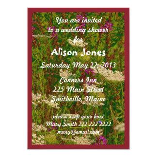 Queen Ann's Lace Bridal Shower Invitation
