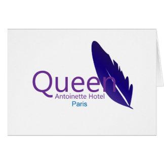 Queen Antoinette Hotel Card
