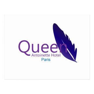 Queen Antoinette Hotel Postcard