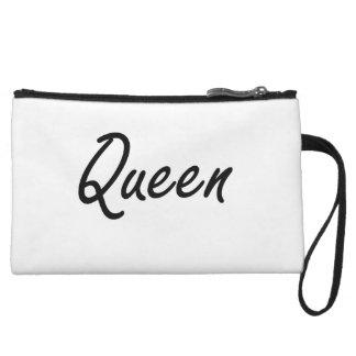 Queen Artistic Job Design Wristlet Purses
