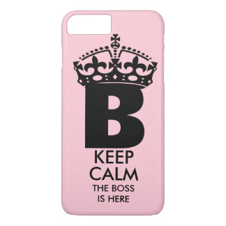 Queen B Keep Calm iPhone 7 Plus Case