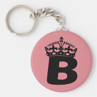 Queen B Keychain