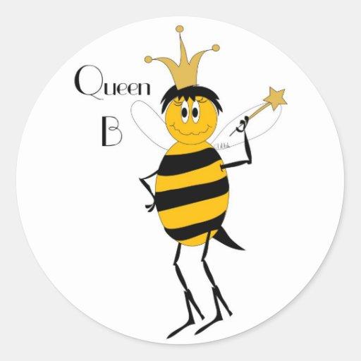 Queen B Sticker