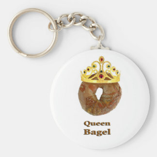 Queen Bagel Key Chains