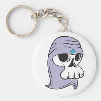 Queen Basic Round Button Keychain