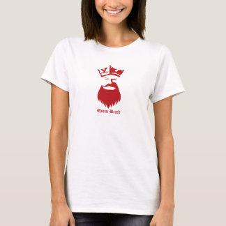 Queen Beard strong font T-Shirt