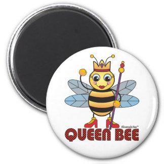 Queen Bee 2 Inch Round Magnet