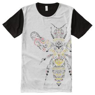 queen bee All-Over-Print shirt