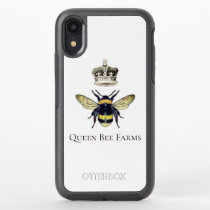 Queen Bee And Crown OtterBox Symmetry iPhone XR Case