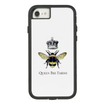 Queen Bee And Crown White Farms Or Apiary Case-Mate Tough Extreme iPhone 8/7 Case