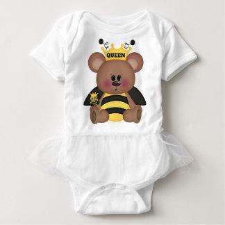 """""""Queen Bee"""" BABY TUTU BODYSUIT"""