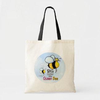 Queen Bee - Big Sister Tote Bag