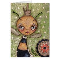 Queen Bee - Birthday Card
