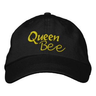 Queen Bee by SRF Embroidered Baseball Hat