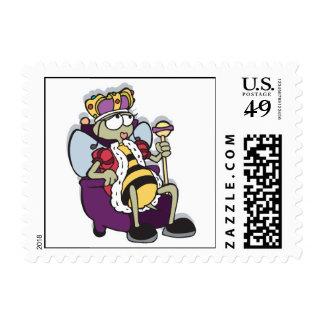 queen bee cartoon postage