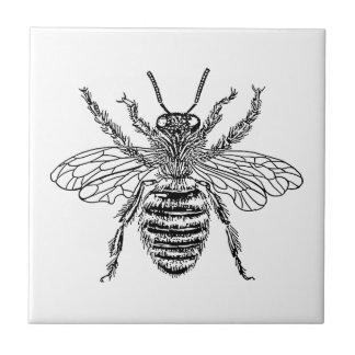 Queen Bee Ceramic Tile
