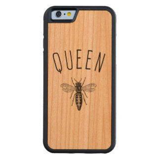 Queen Bee Cherry Wood iPhone 6 Case Carved® Cherry iPhone 6 Bumper Case