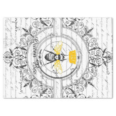 Queen Bee Decoupage Tissue Paper