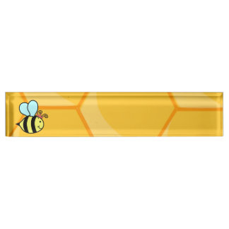 Queen Bee Desk Name Plate