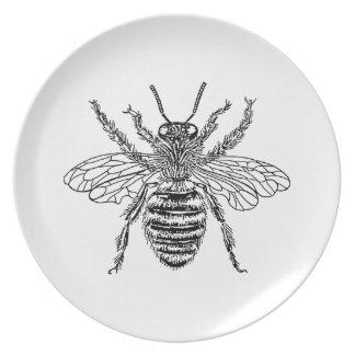 Queen Bee Dinner Plate