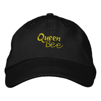 Queen Bee Embroidered Hat