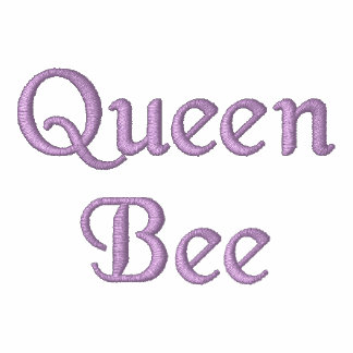 Queen Bee Embroidered Polo