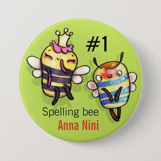 Queen Bee & Honey Diddy Pinback Button