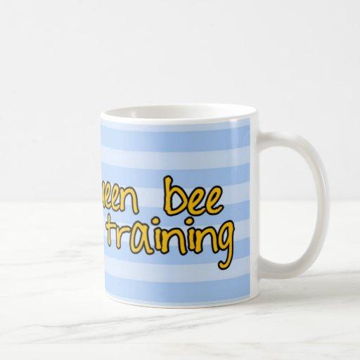 queen bee in training coffee mug