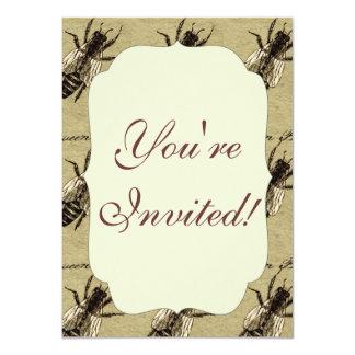 "Queen Bee 4.5"" X 6.25"" Invitation Card"