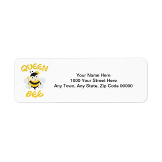 Queen Bee Label
