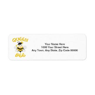 Queen Bee Label