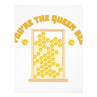 Queen Bee Letterhead