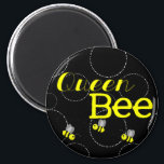 """Queen Bee Magnet<br><div class=""""desc"""">For the Queen Bee in your life.</div>"""