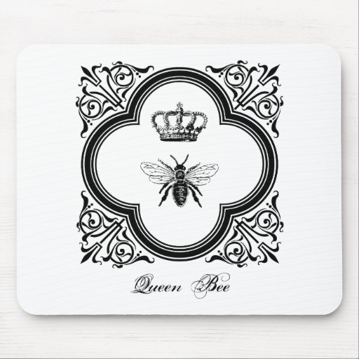 Queen Bee Drawing Vintage Of A