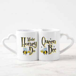 Queen Bee Mr. Honey Do Coffee Mug Set