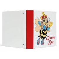 Queen Bee Notebook binder