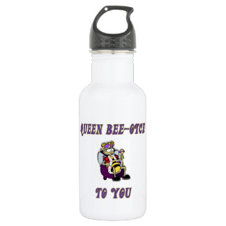 Queen Bee-otch Stainless Steel Water Bottle