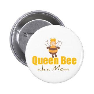 Queen Bee Pinback Button
