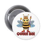 Queen Bee Pinback Buttons