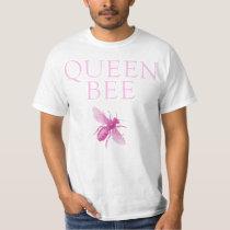 Queen Bee Pink Funny T Shirt