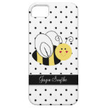 Queen Bee Polka Dot Personalized Case