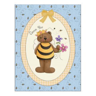 Queen Bee - Postcard