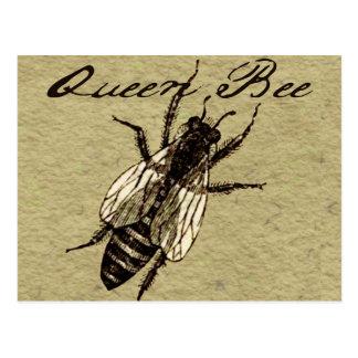 Queen Bee Postcard