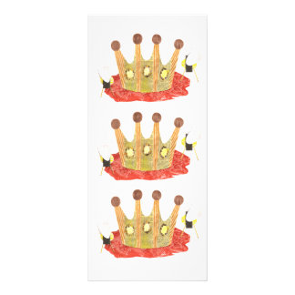 Queen Bee Rackcard Rack Card