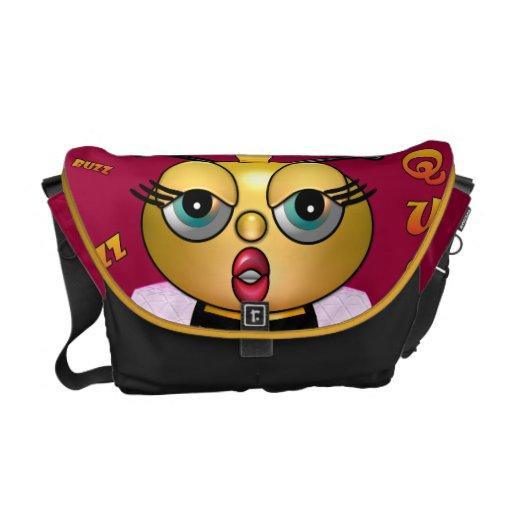 Queen Bee Rickshaw Messenger Bag
