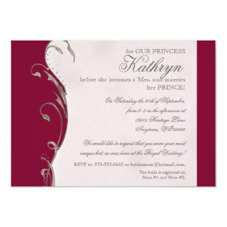 Queen Bee Royal Wedding Bridal Shower Invitation